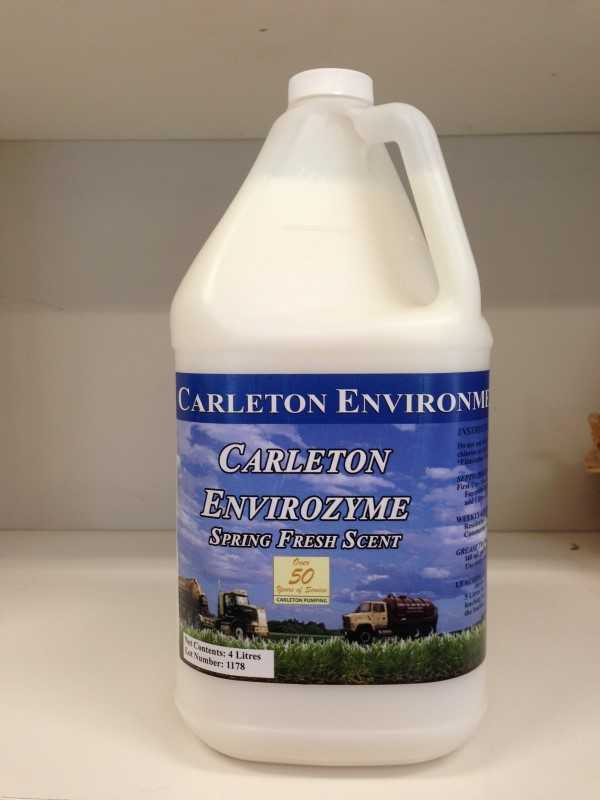 Bacterial Additives Carleton Environmental Services